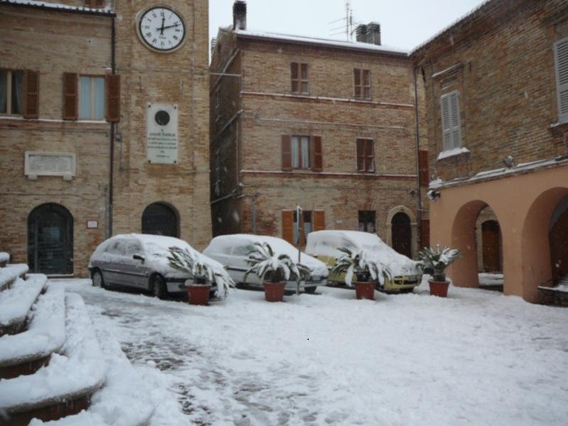 Neve 11 febbraio a Massignano di Pietro Curi 2