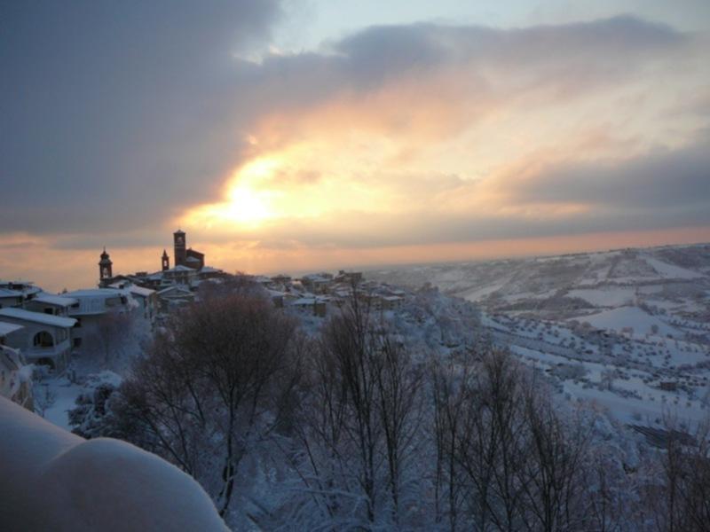 Neve 11 febbraio a Massignano di Pietro Curi 4