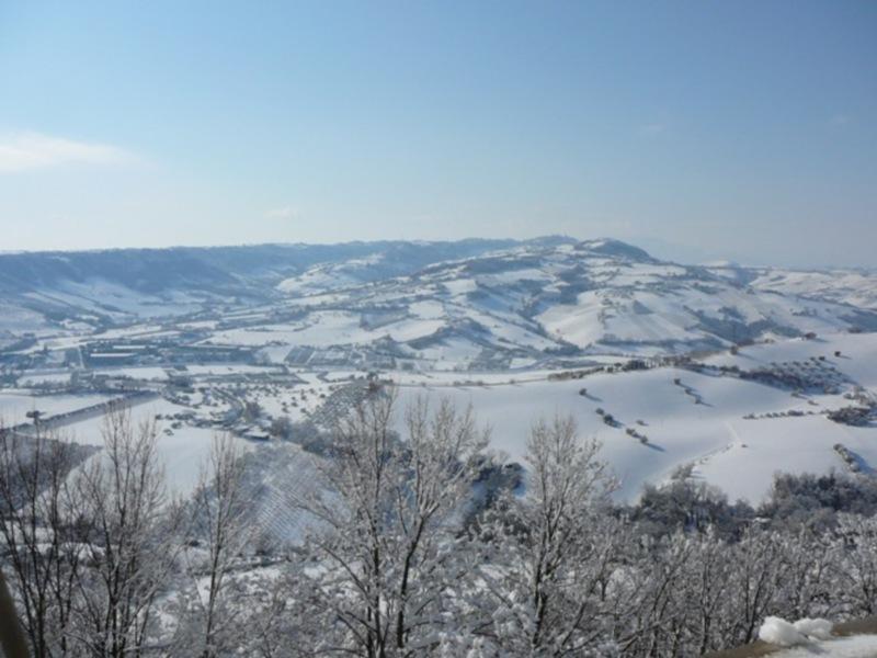 Neve 11 febbraio a Massignano di Pietro Curi 5