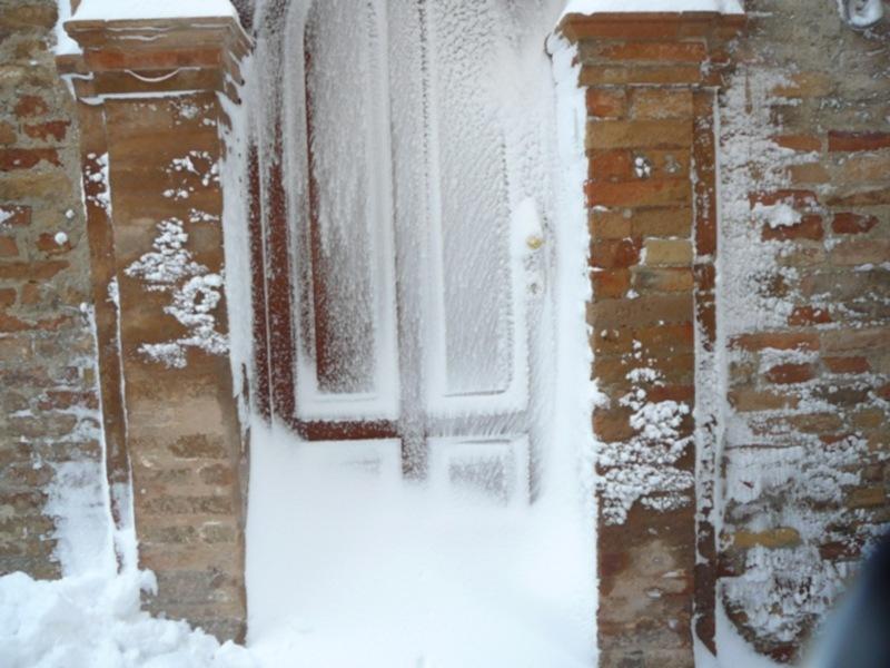 Neve 11 febbraio a Massignano di Pietro Curi 7