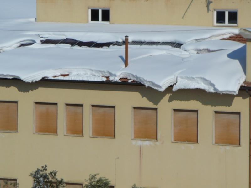 Neve 11 febbraio a Massignano di Pietro Curi. 6