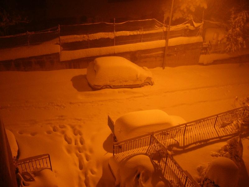Neve, Acquaviva, 12 febbraio 2012 foto Vinicio Colletta 3