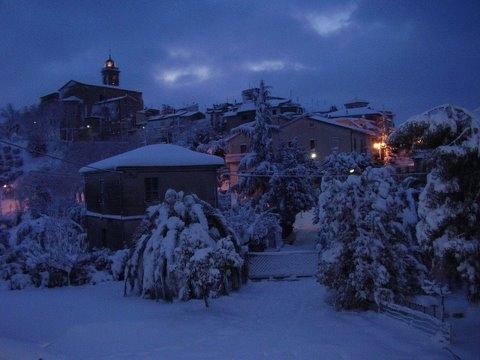 Neve, Monsampolo, 11 febbraio 2012 foto Romeo Di Girolamo 1