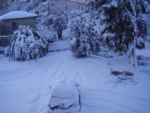 Neve, Monsampolo, 11 febbraio 2012 foto Romeo Di Girolamo 3