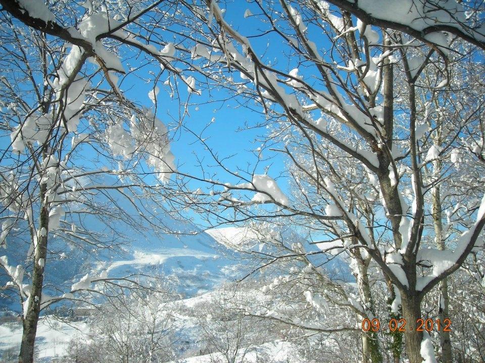 Neve, Montemonaco, 9 febbraio 2012 foto Annamaria 2