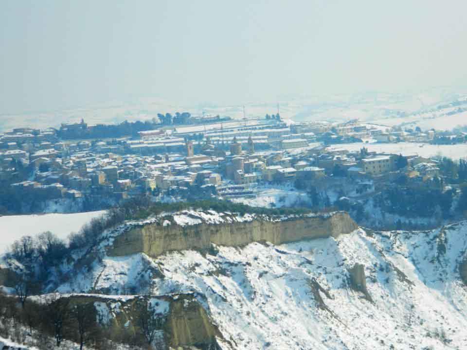 Neve, Offida, 13 febbraio 2012, foto Alberto Premici 3