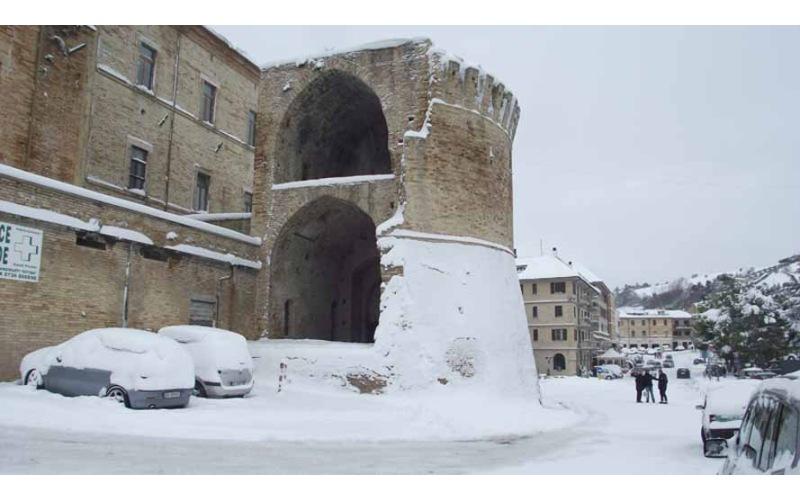 Neve a Offida  di  Enrica-Capriotti
