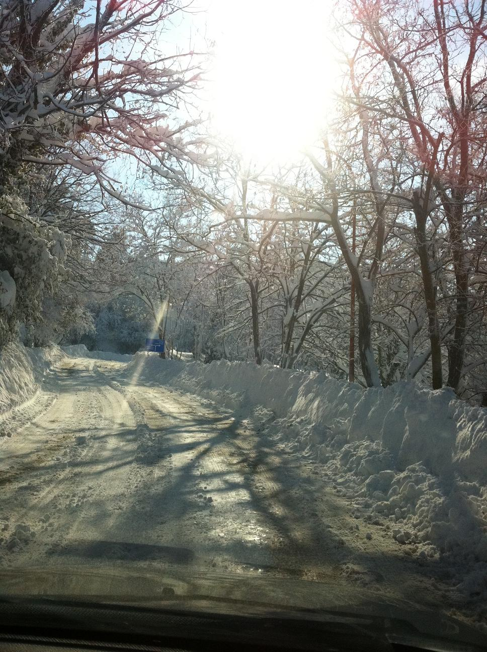 Neve a Ripatransone, 11 febbraio 2012 foto Silvia Basili 3