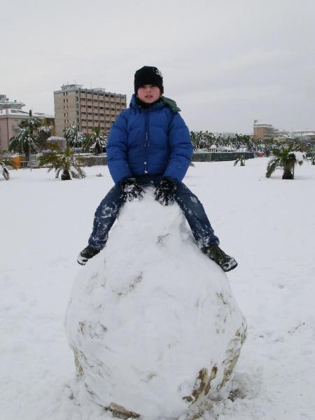 Neve a San Benedetto, 10 febbraio 2012, foto di Danilo (2)