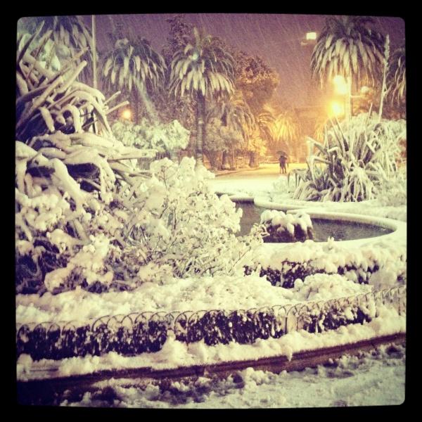 Neve a San Benedetto del Tronto, 10 febbraio 2012, Valentina Rossi