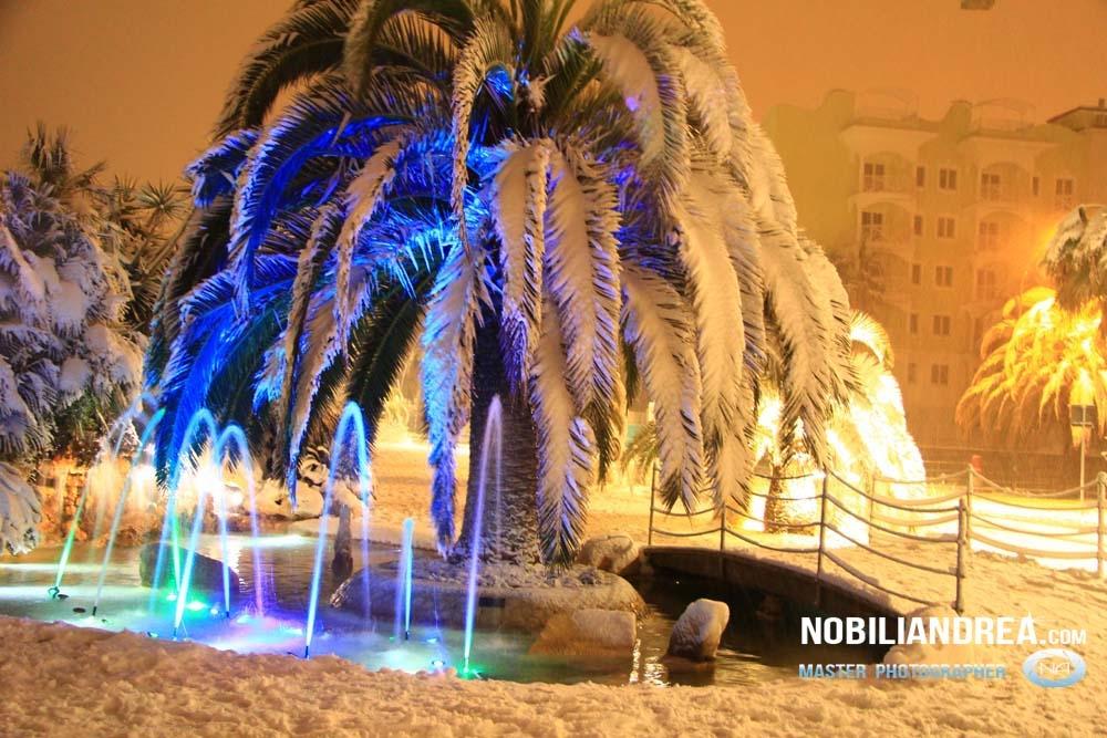 Neve a San Benedetto del Tronto, 9 febbraio 2012