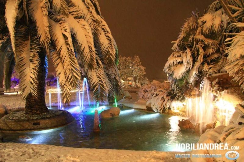 Neve a San Benedetto del Tronto, lungomare, 9 febbraio 2012, Andrea Nobili