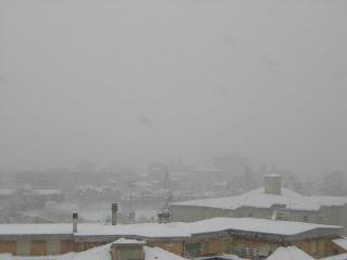 Neve ad Ascoli Piceno, 10 febbraio 2012 (foto di Francesca M.)