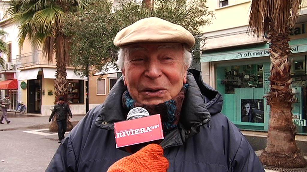 Neve febbraio 2012, Gino Alfonsi
