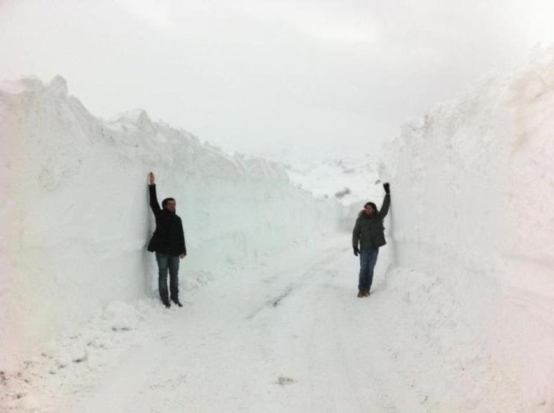 Neve sulle montagne abruzzesi-molisane, 11 febbraio 2012