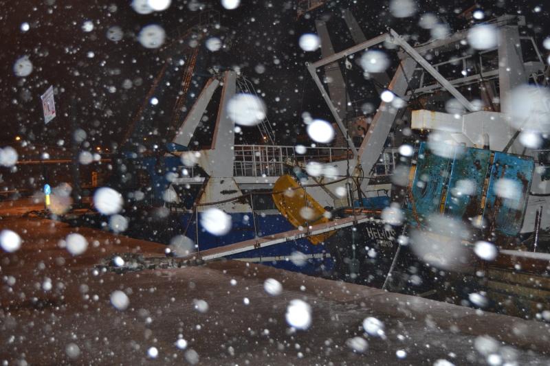 Porto di San Benedetto del Tronto, 10 febbraio 2012