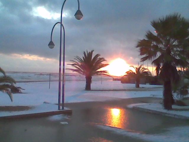 San Benedetto alle prime luci dell'alba, 12 febbraio, Ilio Ciccarelli