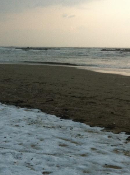 San Benedetto del Tronto, spiaggia, 10 febbraio 2012 (Silvia Basili)