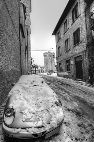 San Benedetto, paese alto, 6 febbraio 2012, Antonio I.