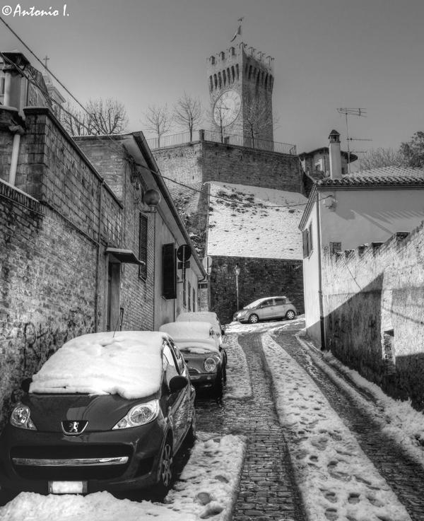 Torrione. 12 febbraio 2012, la neve vista da Antonio I.