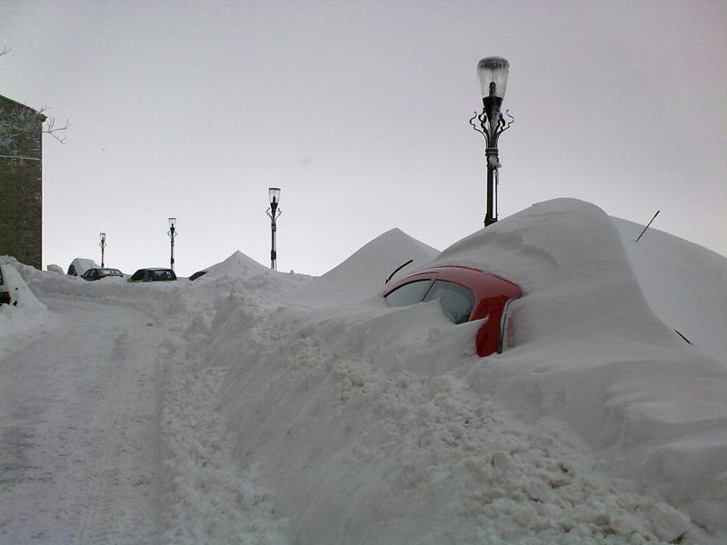 Annalisa Agostini12 febbraio 2012, neve a Ripatransone