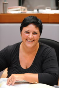 L'assessore regionale Sara Giannini