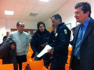 il gruppo volontari della Protezione Civile (fonte: facebook.com/ascolipiceno