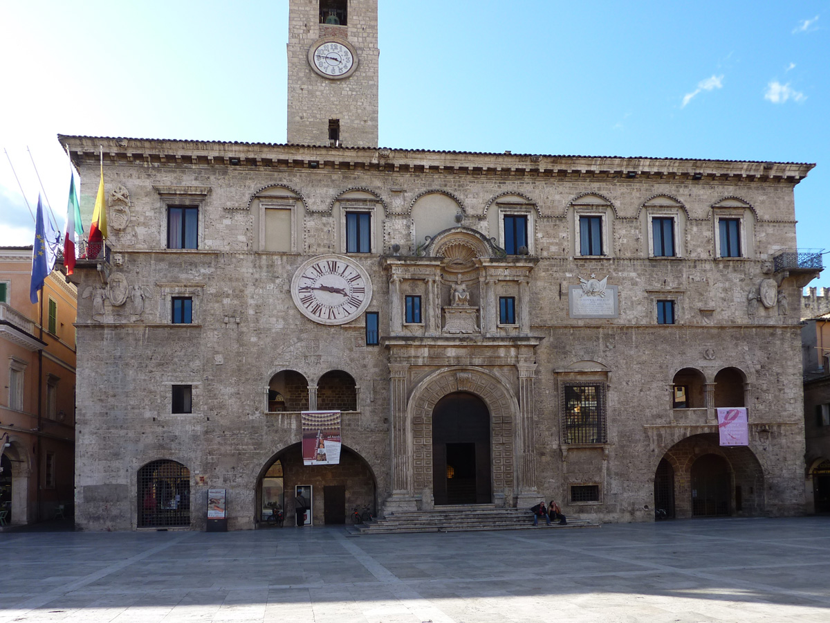Il Palazzo dei Capitani di Ascoli