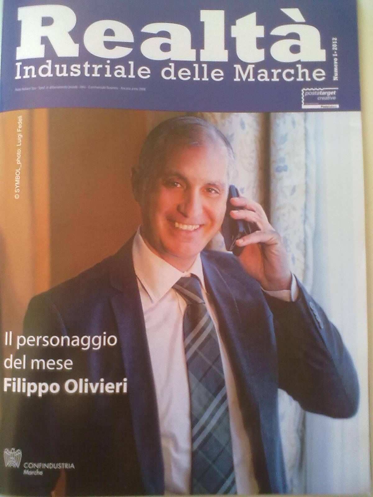 Filippo Olivieri, copertina di