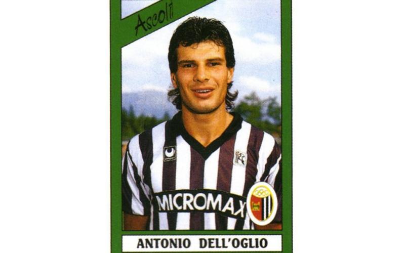 Antonio Dell'Oglio in una foto di fine anni '80