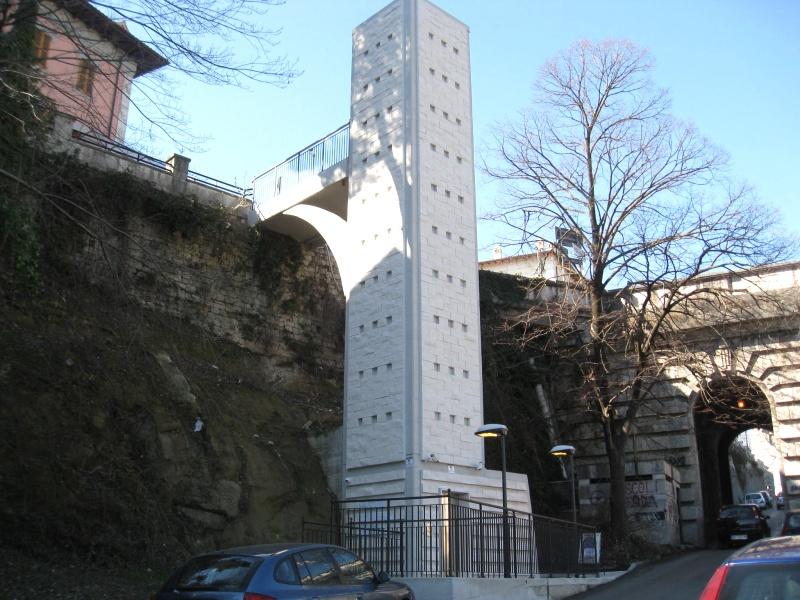 La torre ascensore di Porta Tufilla