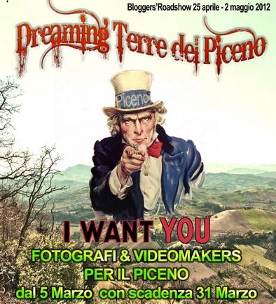 """Bando """"Dreaming Terre del Piceno"""""""