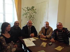 Claudia Almonti, Luciano Casali, Valerio Lucciarini, Piero Antimiani, Mario Sergiacomi