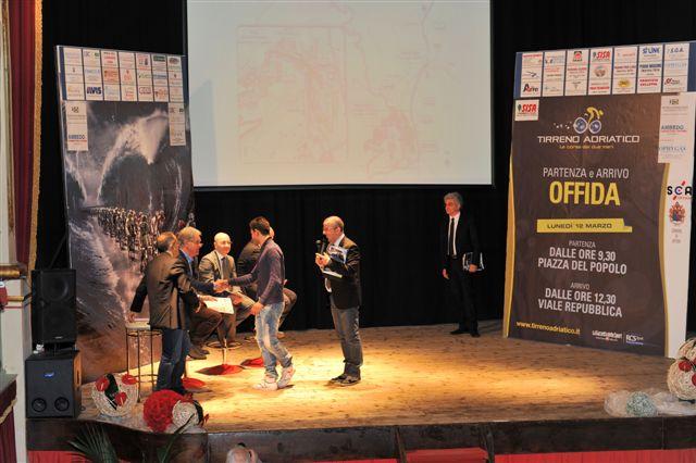 Tirreno-Adriatico, presentazione ad Offida 2