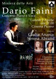 Dario Faini al pianoforte