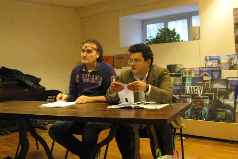 Da sinistra Peppe Giorgini e Paolo Prezzavento