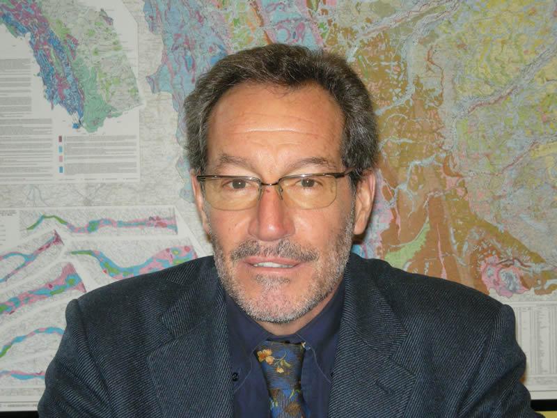 Enrico Gennari, presidente dell'Ordine Geologi Marche