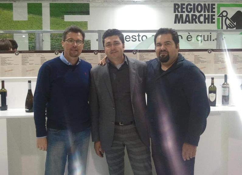 Da sinistra Armando Falcioni, Massimiliano Bartolomei e Raffaele Rossi
