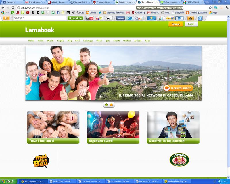 Il portale Lamabook
