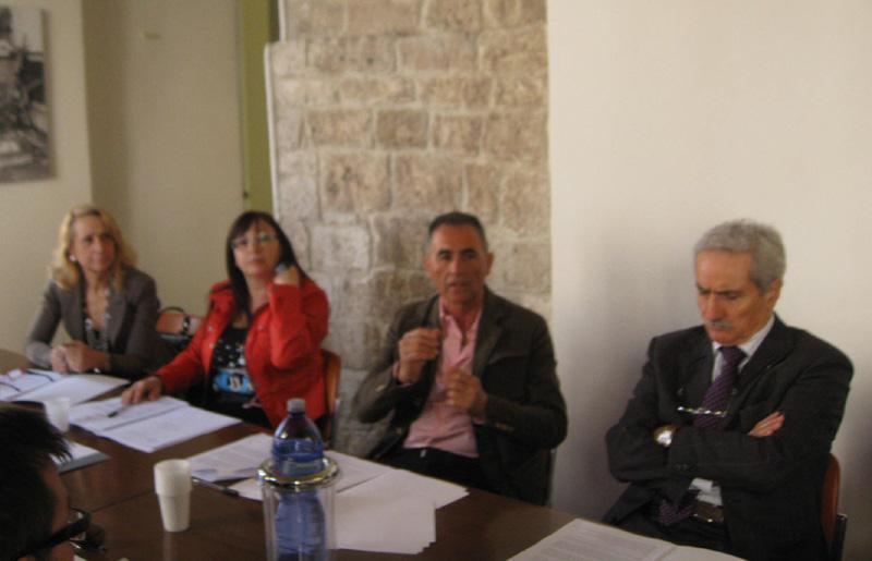 Da sinistra Maria Elma Grelli, Anna Paola Paolini, Renzo Maria De Santis e Roberto Cameli