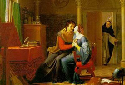 Abelardo ed Eloisa sorpresi da Fulberto (Jean Vignaud)