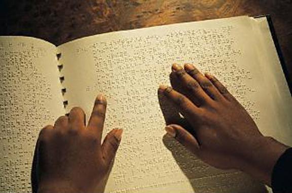 Il sistema Braille per non vedenti