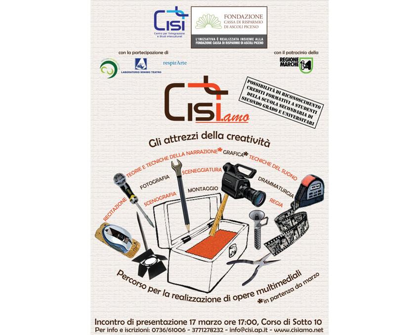 La locandina dell'iniziativa Cisi.amo