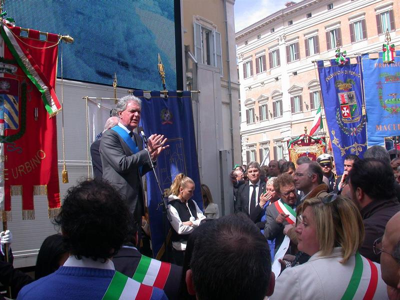 Piero Celani al Marche Day