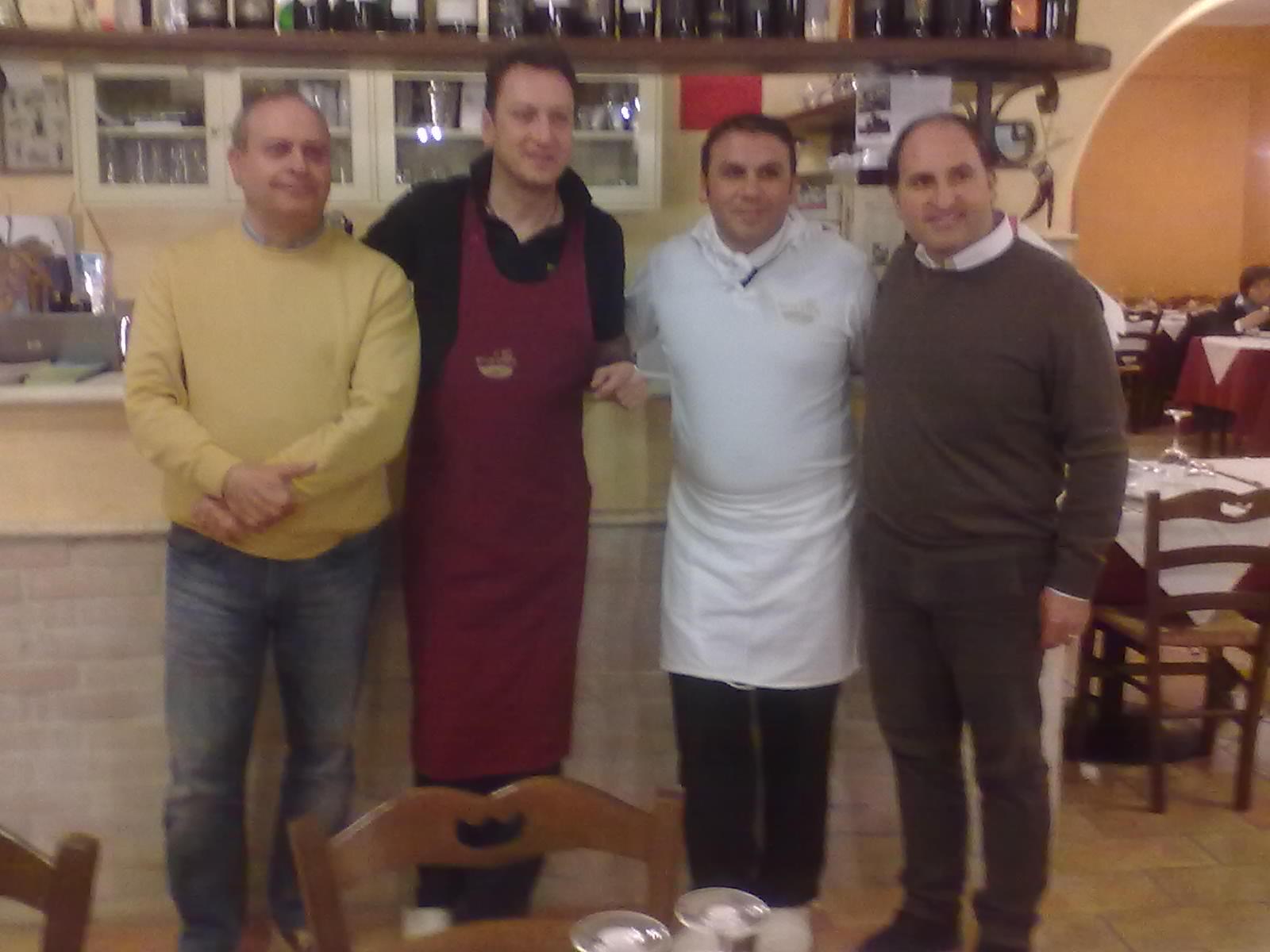 Stefano Salvatori, Nicola Cellini, Dino Baldassarre, Giulio Ficcadenti