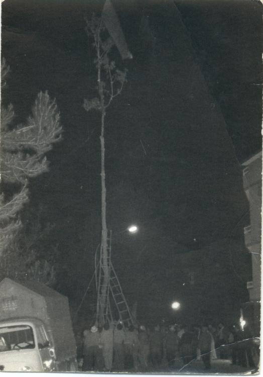Anni '60, Albero di maggio a Porchia
