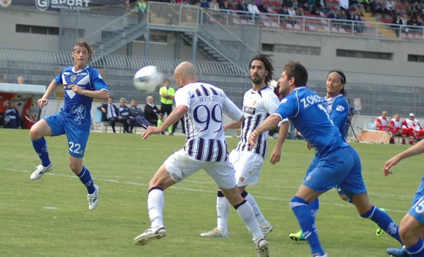 Ascoli-Brescia 3-1, gol Soncin 1-1 (giammusso)