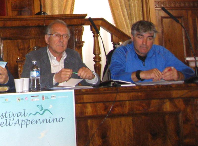 Da sinistra Bruno Bucciarelli e Carlo Lanciotti