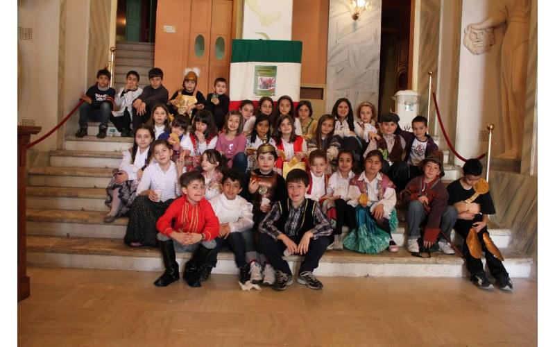 Foto dei bambini dell'istituto Comprensivo