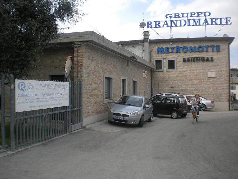 I locali del gruppo Brandimarte, probabile futura sede del Sert